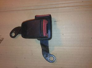 peugeot 205 1.6 1.9 gti xs xe all 205's front seat belt clasp pair long type